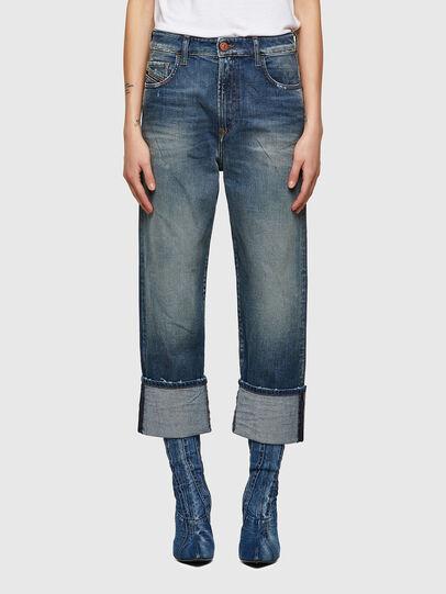 Diesel - D-Reggy 009UA, Blu Scuro - Jeans - Image 1