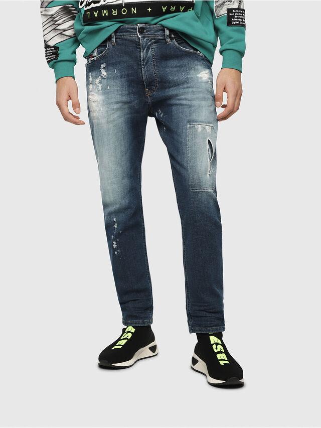 Diesel - Narrot JoggJeans 087AK, Blu Scuro - Jeans - Image 1