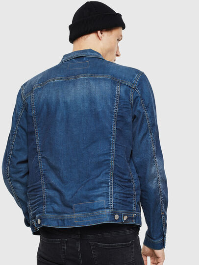 Diesel - NHILL JOGGJEANS, Blu Jeans - Giacche in denim - Image 2