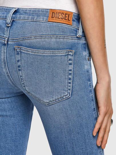 Diesel - Slandy Low 009ZY, Blu Chiaro - Jeans - Image 4