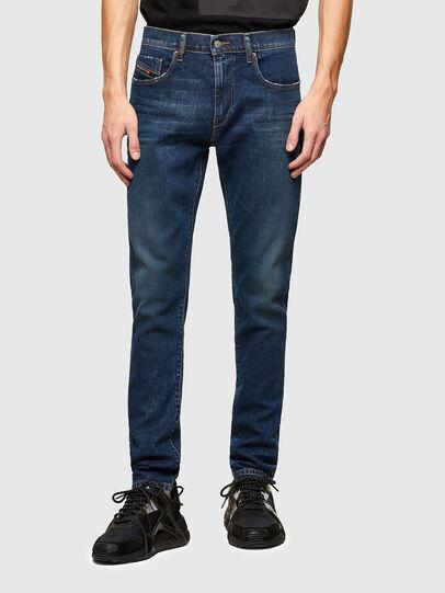 Diesel - D-Strukt 009NV, Blu Scuro - Jeans - Image 1
