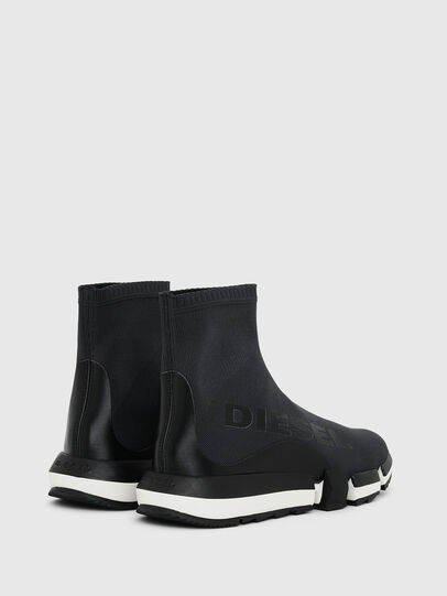 Diesel - H-PADOLA HIGH SOCK W, Nero - Sneakers - Image 3