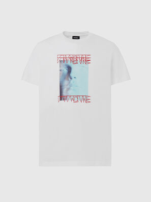 T-DIEGOS-X47, Bianco - T-Shirts