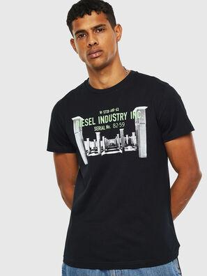 T-DIEGO-S13, Nero - T-Shirts