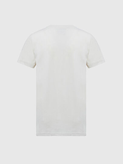 Diesel - T-SILY-E55, Bianco - T-Shirts - Image 2