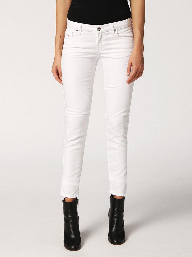 GRACEY JOGGJEANS 0684U, Bianco Jeans