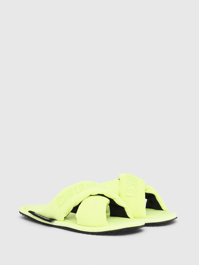 Diesel - SA-MERY X, Giallo Fluo - Ciabatte - Image 2