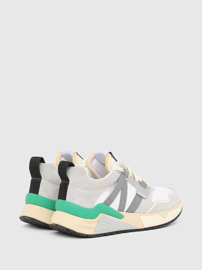 Diesel - S-BRENTHA WL, Bianco/Grigio - Sneakers - Image 3