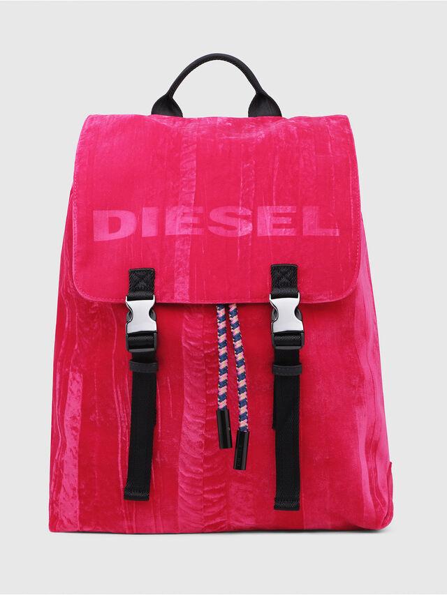 Diesel - F-MUSILE BACKPACK, Rosa Fluo - Zaini - Image 1