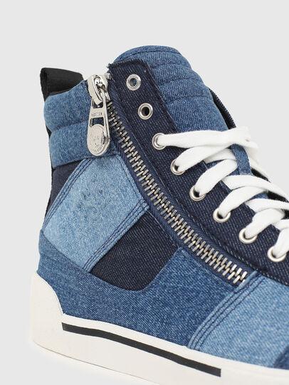 Diesel - S-DVELOWS MID CUT, Blu - Sneakers - Image 4
