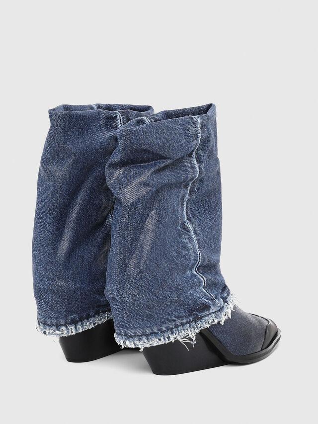 Diesel - D-WEST MB, Blu Jeans - Stivaletti - Image 3