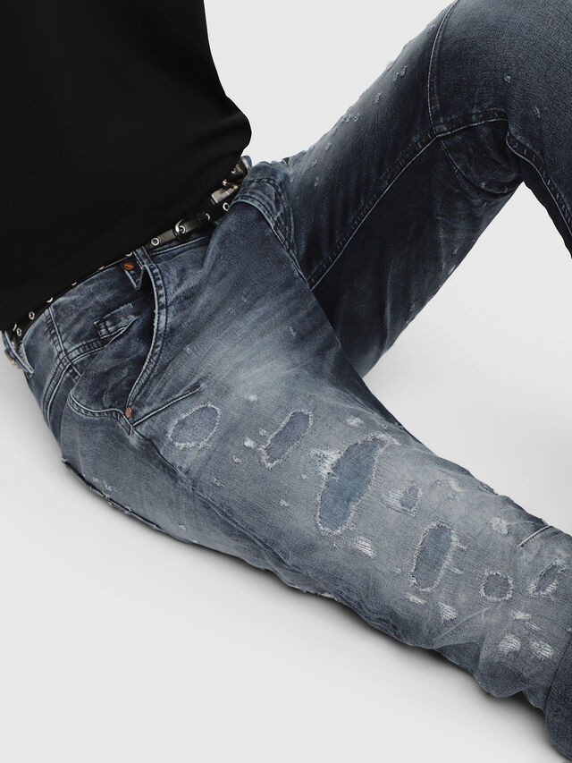 Diesel - Fayza JoggJeans 069CC, Blu Scuro - Jeans - Image 3