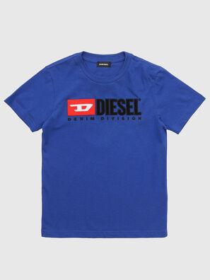TJUSTDIVISION, Blu Mélange - T-shirts e Tops