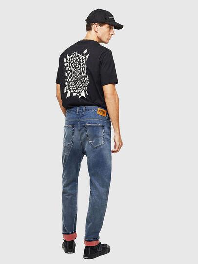 Diesel - D-Vider JoggJeans 069LW, Blu Scuro - Jeans - Image 7