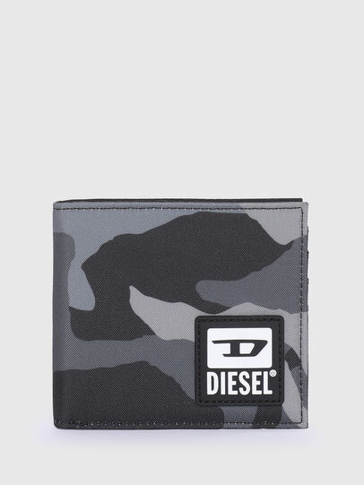 Diesel - HIRESH S, Grigio/Nero - Portafogli Piccoli - Image 1