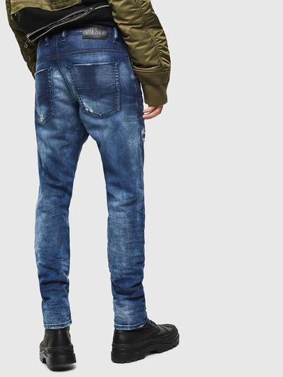 Diesel - Krooley JoggJeans 0097N, Blu Scuro - Jeans - Image 2
