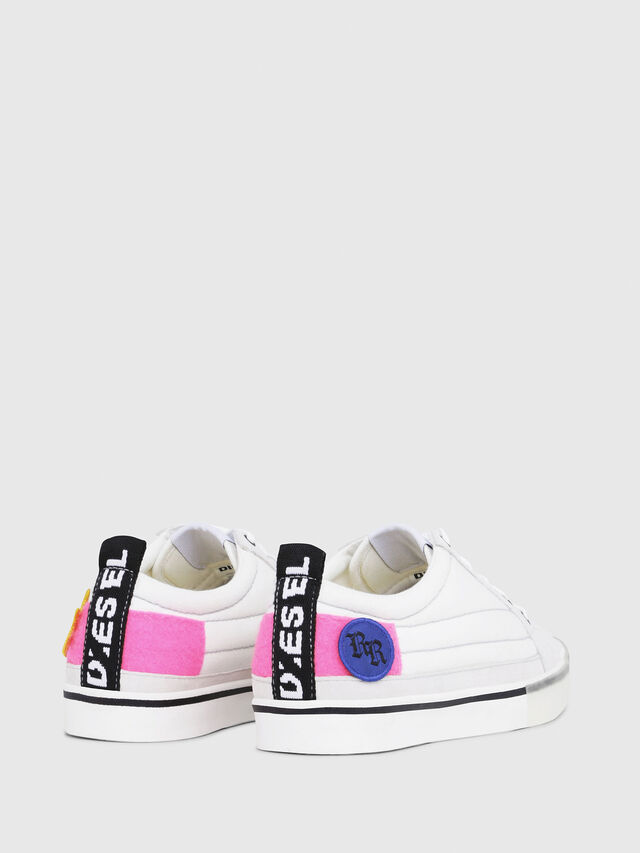 Diesel - D-VELOWS LOW PATCH W, Bianco - Sneakers - Image 3