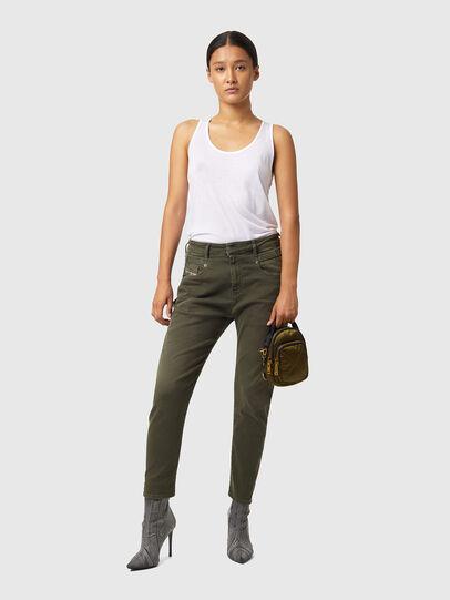 Diesel - Fayza JoggJeans® Z670M, Verde Militare - Jeans - Image 4