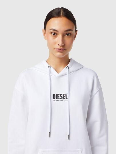 Diesel - D-ILSE-ECOSMALLOGO, Bianco - Vestiti - Image 3