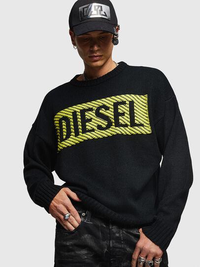 Diesel - K-LOGOX-C, Nero - Maglieria - Image 1