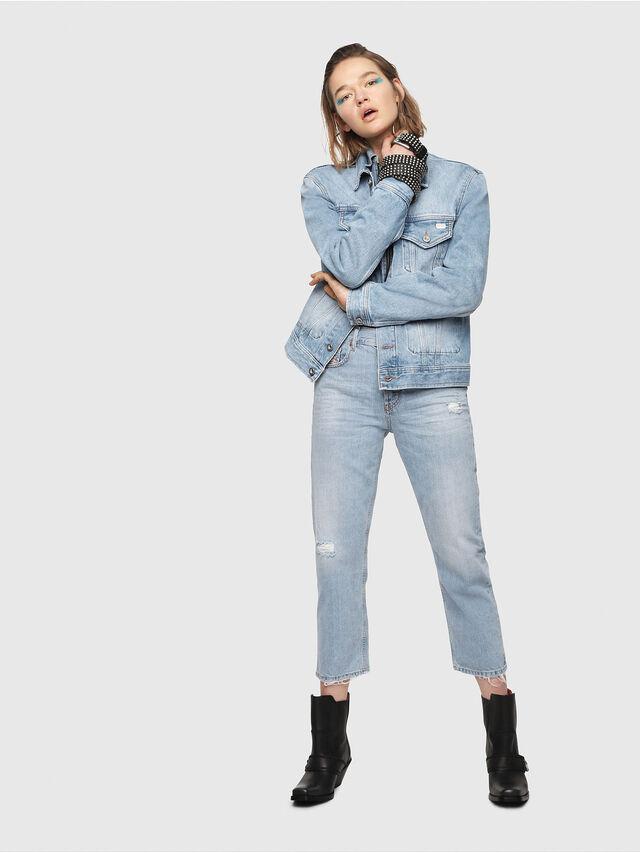 Diesel - Aryel 080AF, Blu Chiaro - Jeans - Image 4