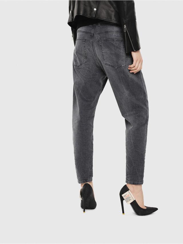 Diesel - Candys JoggJeans 069EP, Nero/Grigio scuro - Jeans - Image 2
