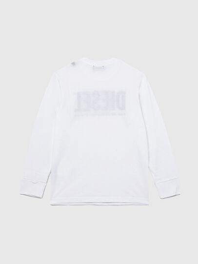 Diesel - TJUSTLOGO ML, Bianco - T-shirts e Tops - Image 2