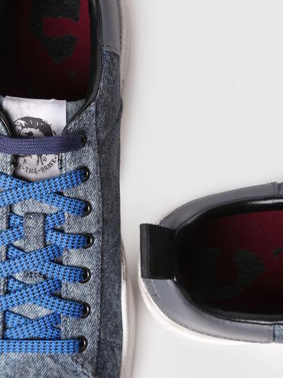 Diesel - S-CLEVER LOW, Grigio - Sneakers - Image 4