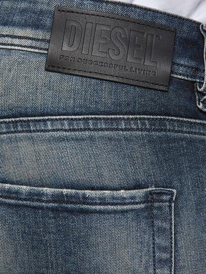 Diesel - Sleenker 069NI, Blu Scuro - Jeans - Image 4