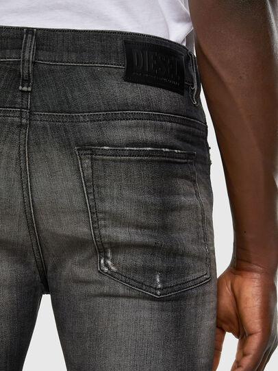 Diesel - D-Reeft JoggJeans 009FX, Nero/Grigio scuro - Jeans - Image 3