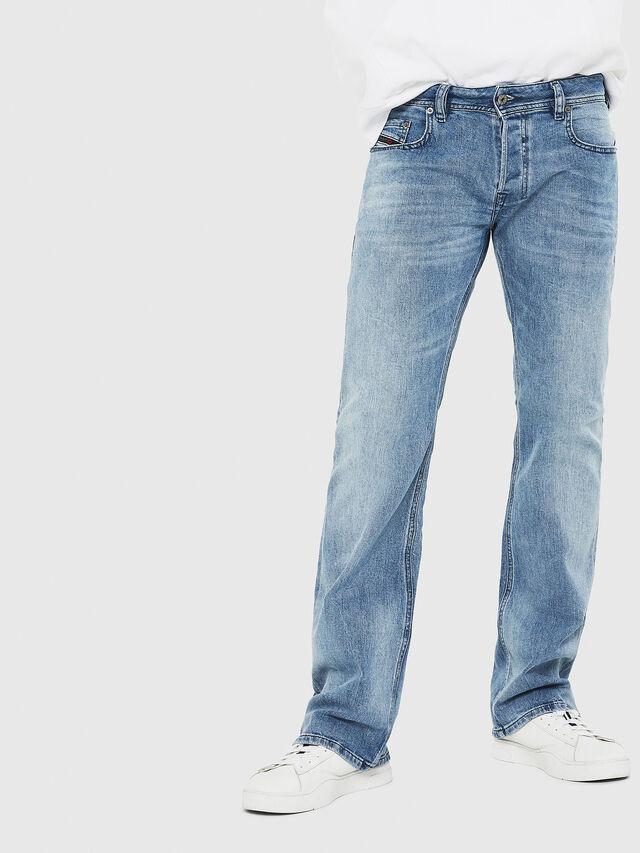 Diesel - Zatiny C81AL, Blu Chiaro - Jeans - Image 1