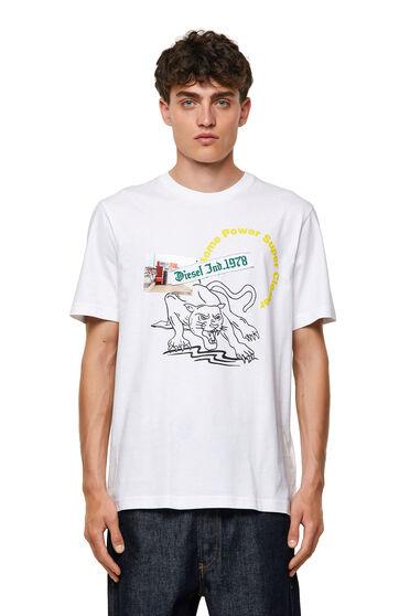T-shirt con stampe grafiche