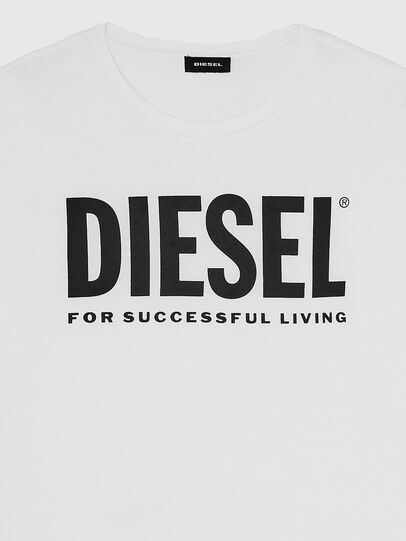 Diesel - T-SILY-WX, Bianco - T-Shirts - Image 3