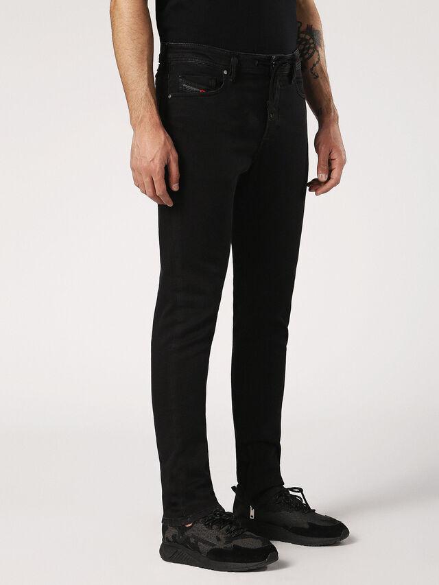 DEEPZIP JOGGJEANS 0687Z, Nero Jeans