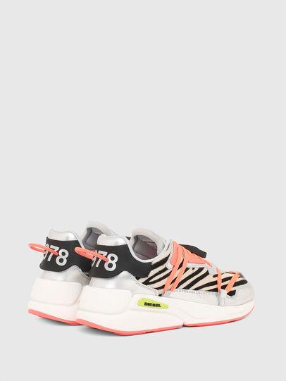 Diesel - S-SERENDIPITY LC EVO, Bianco/Rosa - Sneakers - Image 3