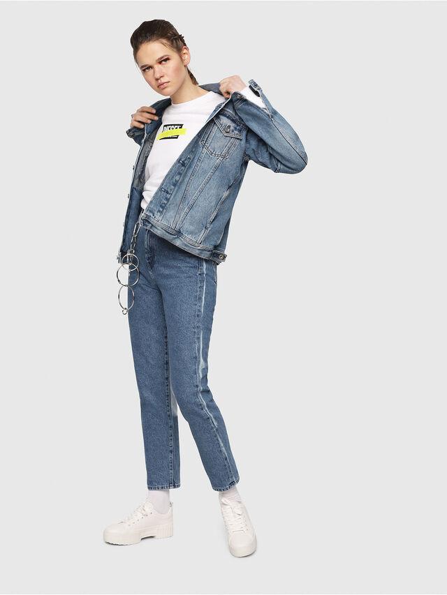 Diesel - D-Eiselle 0077V, Blu medio - Jeans - Image 5
