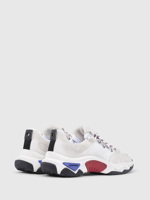 Diesel - S-KIPPER LOW LACE, Bianco - Sneakers - Image 3