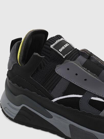 Diesel - S-BRENTHA DEC, Nero/Grigio - Sneakers - Image 5