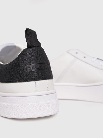 Diesel - S-CLEVER LOW, Bianco/Nero - Sneakers - Image 4