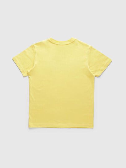 Diesel - TJUSTDIVISION, Giallo - T-shirts e Tops - Image 2