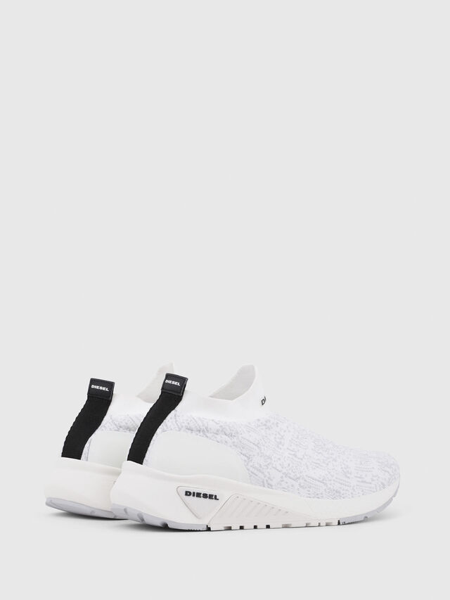 Diesel - S-KB ATHL SOCK, Bianco - Sneakers - Image 3
