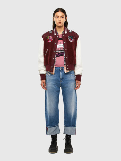 Diesel - T-SILY-V20, Rosa - T-Shirts - Image 5