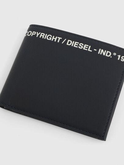 Diesel - HIRESH S, Blu Scuro - Portafogli Piccoli - Image 4