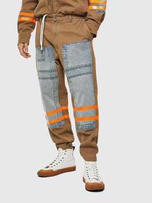 P-CARUSO, Marrone Chiaro - Pantaloni