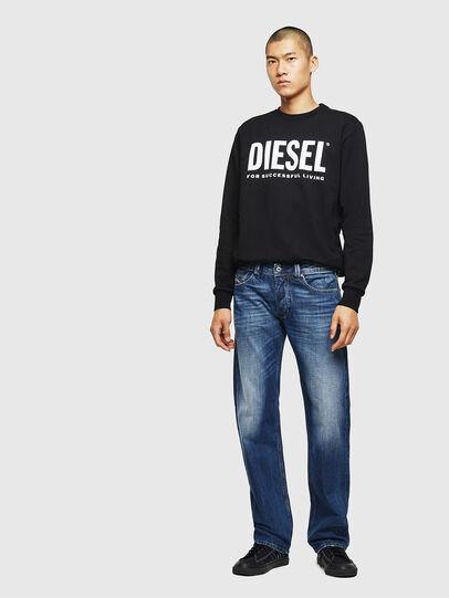 Diesel - Larkee 008XR, Blu Scuro - Jeans - Image 5