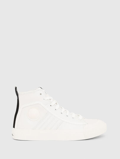 Diesel - S-ASTICO MID LACE W, Bianco - Sneakers - Image 1