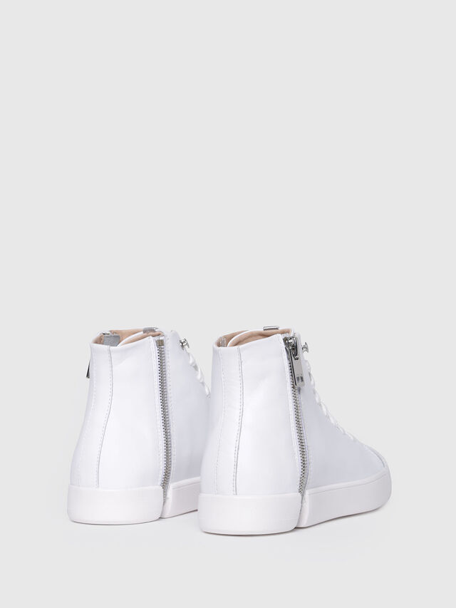 Diesel - S-NENTISH MC W, Bianco - Sneakers - Image 3