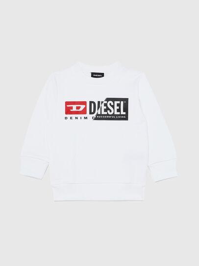 Diesel - SGIRKCUTYB-R, Bianco - Felpe - Image 1