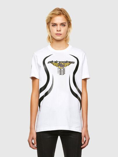 Diesel - ASTARS-T-DIEGOS-A-FL, Bianco - T-Shirts - Image 1