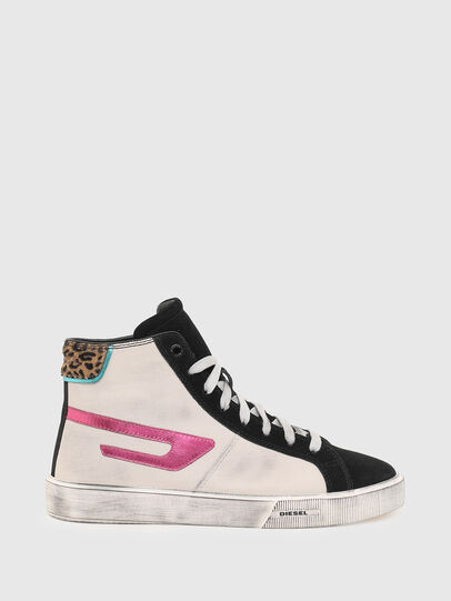 Diesel - S-MYDORI ML W, Rosa/Nero - Sneakers - Image 1